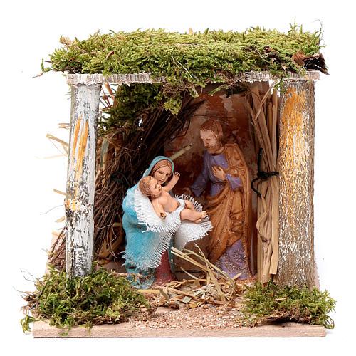 Natividad clásica 10 cm en Movimiento Moranduzzo 1