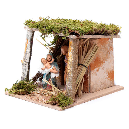 Moving classical nativity 10 cm Moranduzzo 2