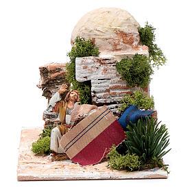 Venditore tappeti arabo 10 cm in Movimento Moranduzzo s1