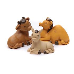 Belén personajes 12 piezas de resina 7 cm s5