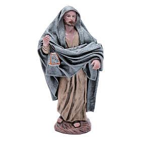 Statue Maria e Giuseppe in cerca alloggio 18 cm s7