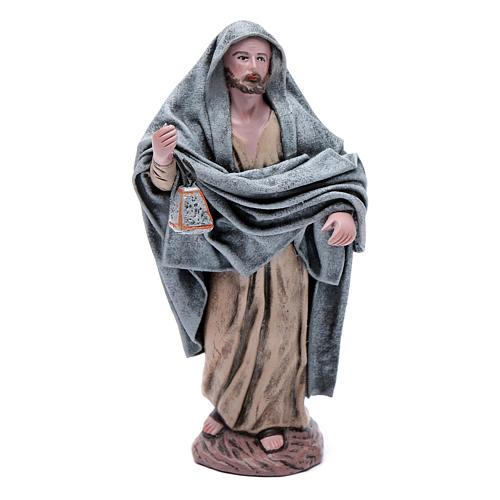 Statue Maria e Giuseppe in cerca alloggio 18 cm 7