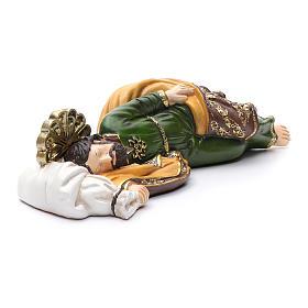 Statua San Giuseppe dormiente per presepe 40 cm s4