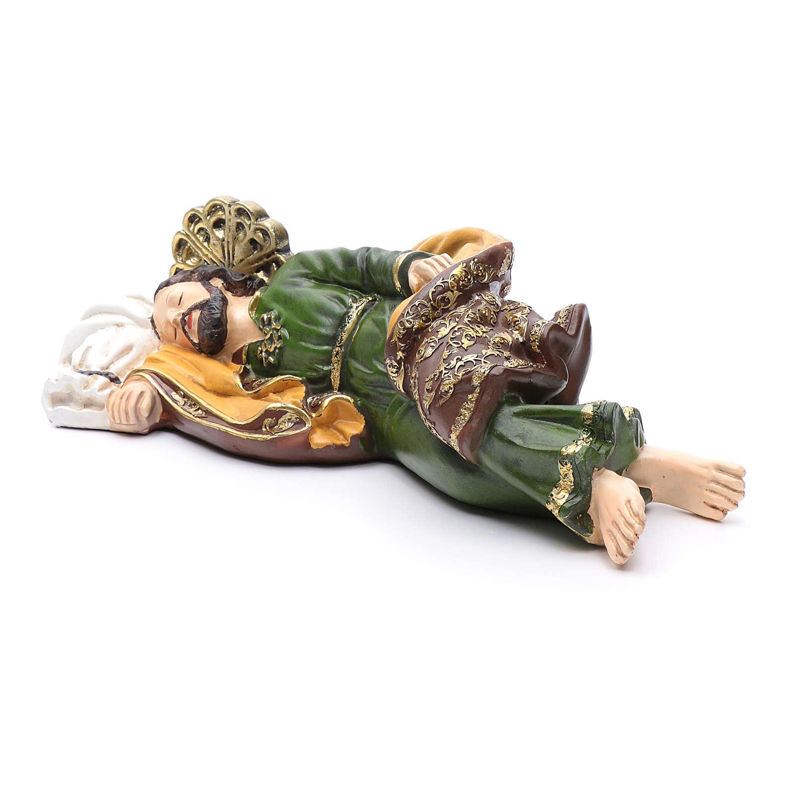Nativity scene statue Saint Joseph sleeping 40 cm 3