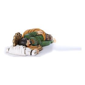 Statua San Giuseppe dormiente per presepe 100 cm s4