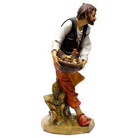 Pasterz z kurami Fontanini 65 cm s3