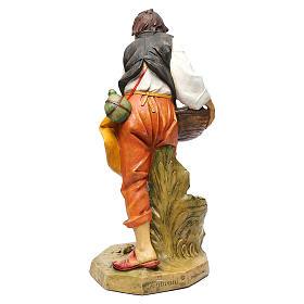 Pasterz z kurami Fontanini 65 cm s10