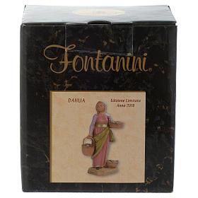 Dahlia con cestos 12 cm Fontanini edición limitada año 2018 s5