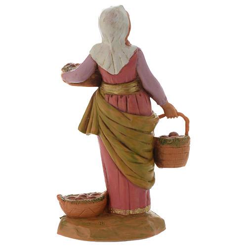 Dahlia con cestos 12 cm Fontanini edición limitada año 2018 4