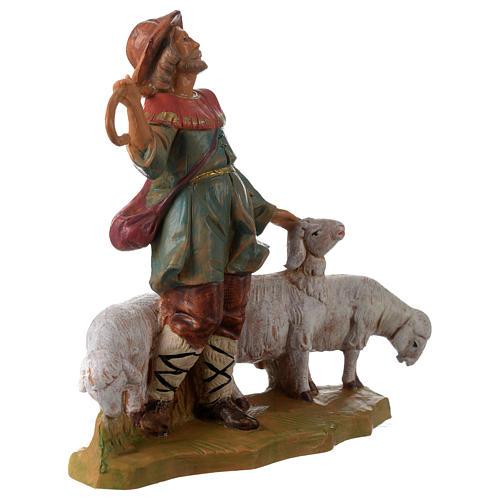 Pastor con rebaño 12 cm Fontanini 3