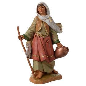 Figury do szopki: Dziewczyna z kijem i amforą 12cm Fontanini
