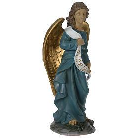 Resin glory Angel for 60 cm Nativity Scene s4