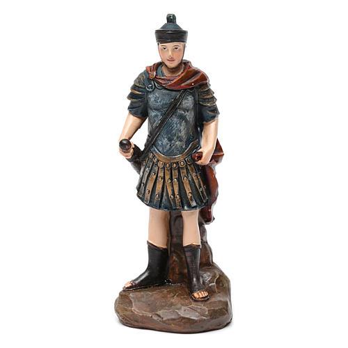 Soldati romani in resina 3 pz per presepe da 13 cm 2