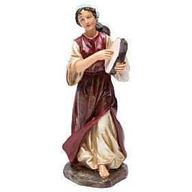 Statue suonatori 3 pz resina per presepe 20 cm s2
