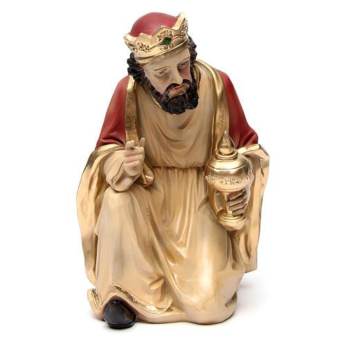 3d05623912d Reyes Magos de resina para belén de altura media 55 cm 4