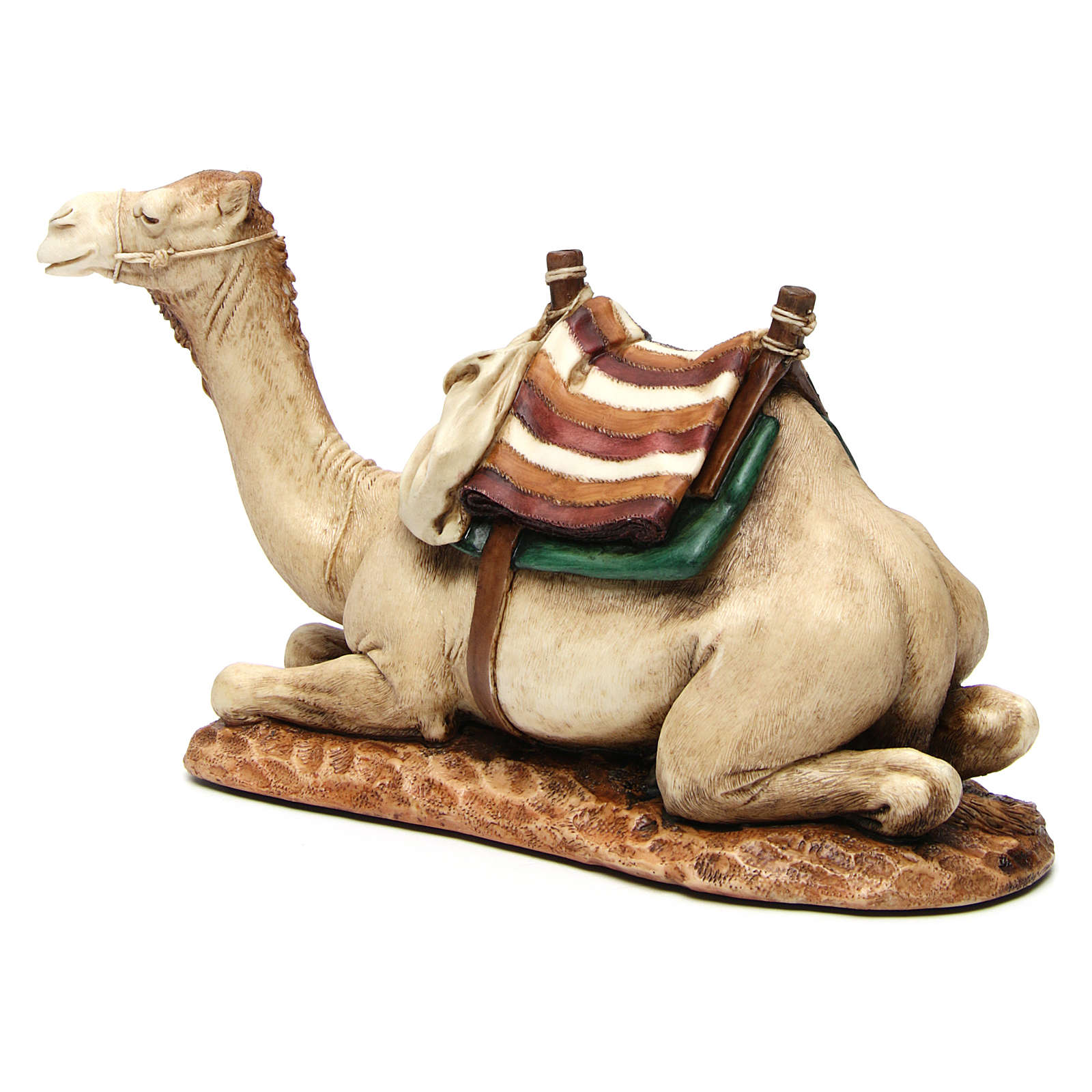 Camel with saddle in resin by Moranduzzo 20 cm 4