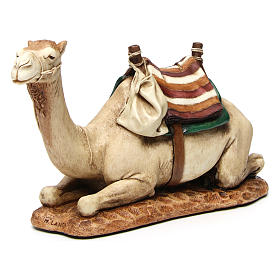 Camel with saddle in resin by Moranduzzo 20 cm s2