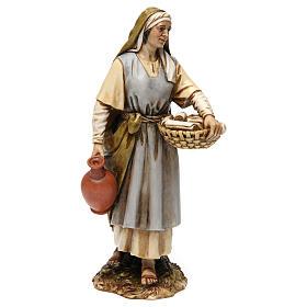 Midwife in resin Moranduzzo Nativity Scene 20 cm s1
