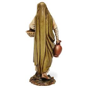 Midwife in resin Moranduzzo Nativity Scene 20 cm s5