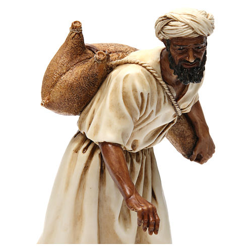 Arab-style water seller Moranduzzo Nativity Scene 20 cm 2