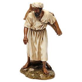 Presepe Moranduzzo: Acquaiolo in stile arabo 20 cm resina Moranduzzo