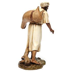 Vendedor de água em estilo árabe 20 cm resina Moranduzzo s5