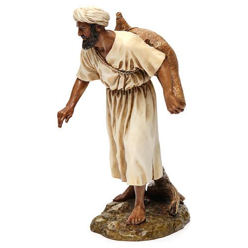 Vendedor de água em estilo árabe 20 cm resina Moranduzzo 3