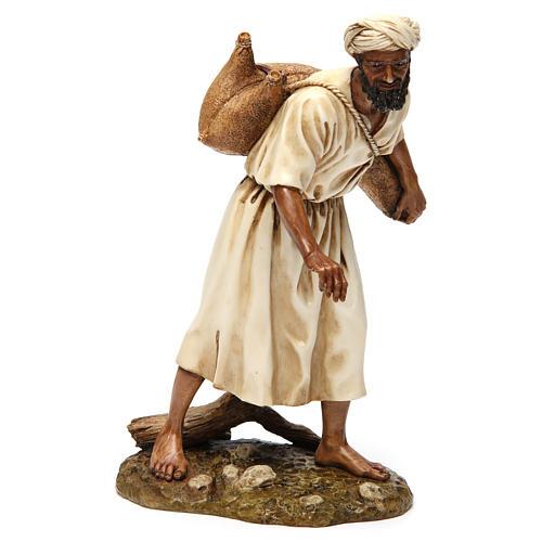Vendedor de água em estilo árabe 20 cm resina Moranduzzo 4