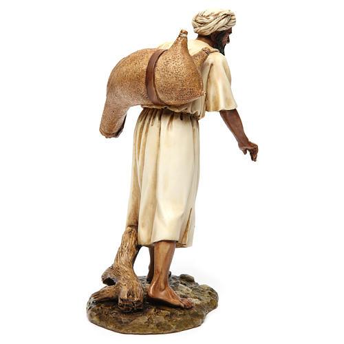 Vendedor de água em estilo árabe 20 cm resina Moranduzzo 5