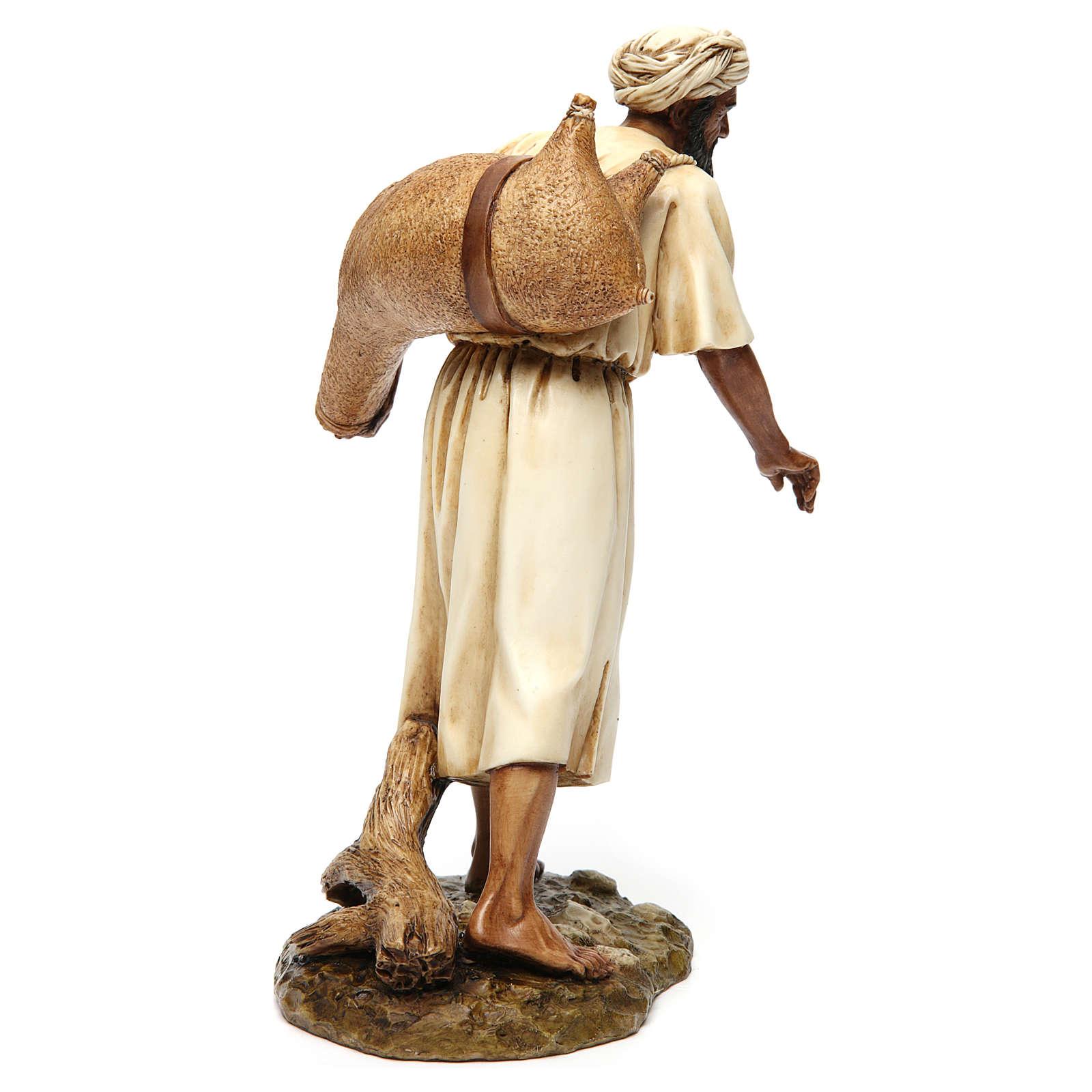 Water-carrier arabian style for Moranduzzo Nativity Scene 20cm 4