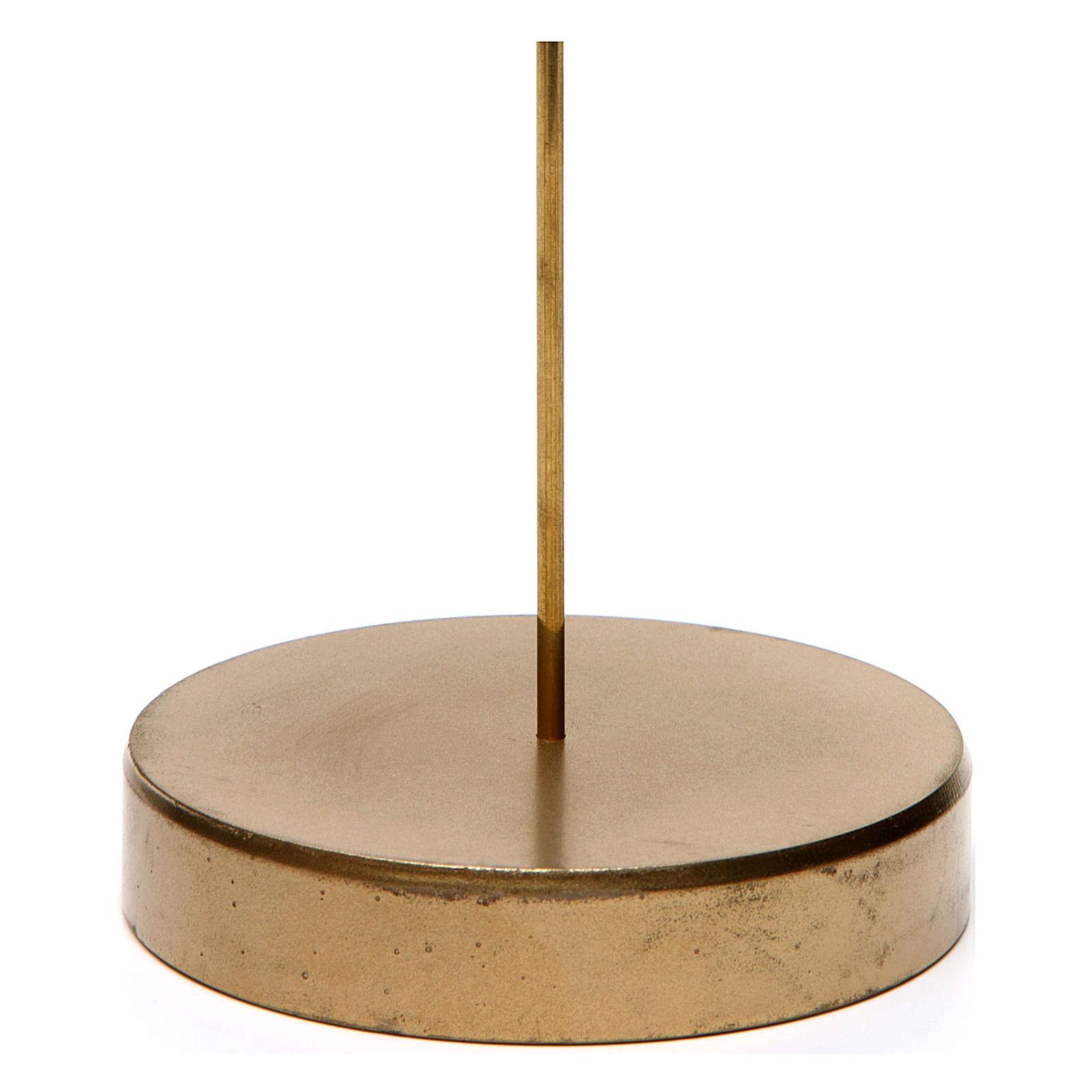 Base apoyo de metal para Ángel Gloria de 20 cm altura media Moranduzzo 4