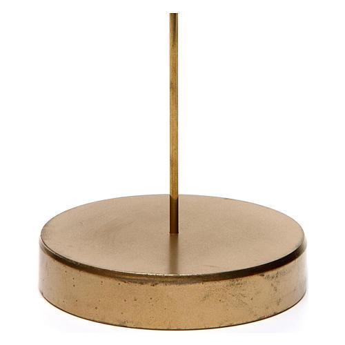 Base apoyo de metal para Ángel Gloria de 20 cm altura media Moranduzzo 2