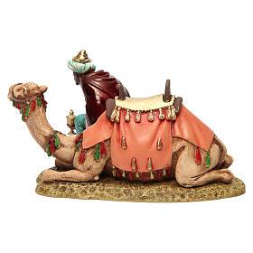 Wise king with camel for Moranduzzo Nativity Scene 13cm s5