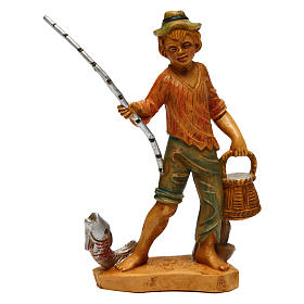 Statue per presepi: Pescatore per presepe di 12 cm