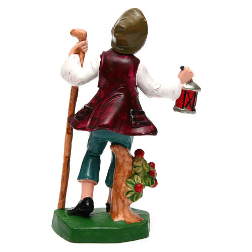 Man with lantern for 12 cm Nativity Scene 2