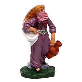 Figuras de Presépio: Mulher com véu e jarra 12 cm presépio