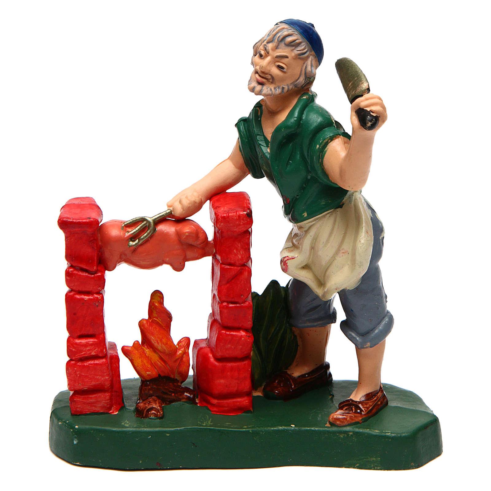 Butcher for Nativity Scene 10 cm 3