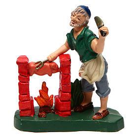 Butcher for Nativity Scene 10 cm s1
