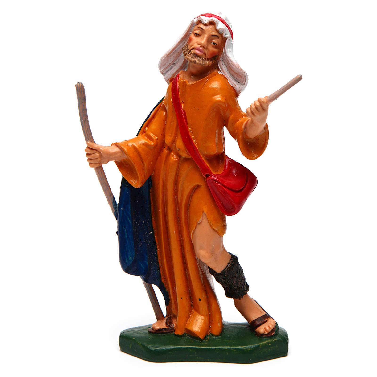 Man with a Staff 12 cm nativity 3