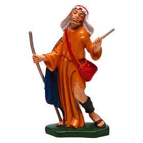 Man with a Staff 12 cm nativity s1