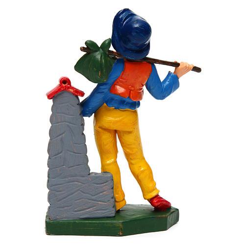 Uomo alla fontana 12 cm presepe 2