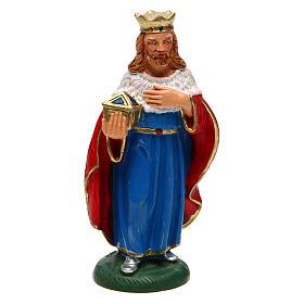 Nativity Scene figurines: Wise Man Balthazar for Nativity Scene 12 cm