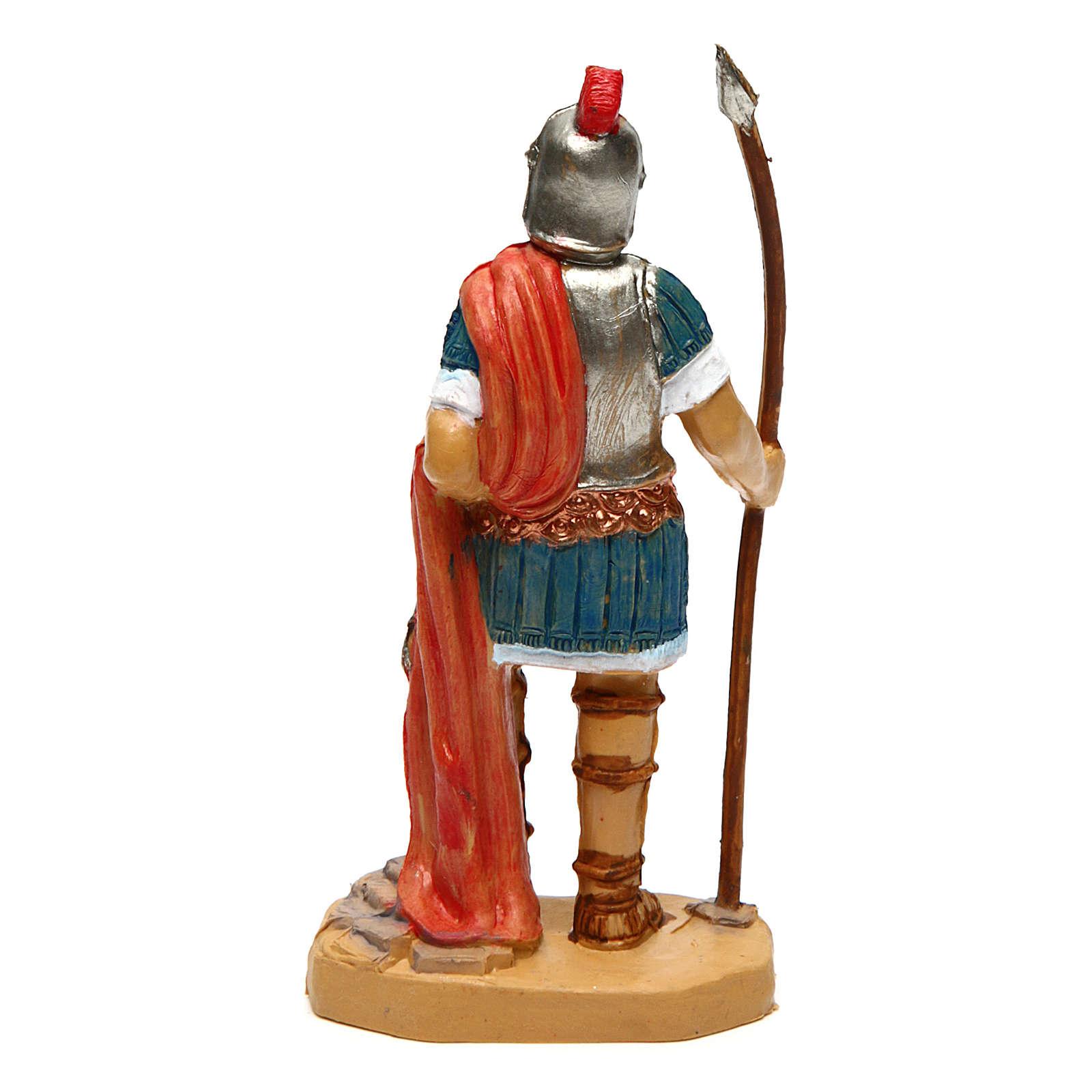 Soldado con lanza de 10 cm de altura media belén 3