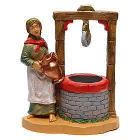 Woman at the well for Nativity Scene 12 cm s1