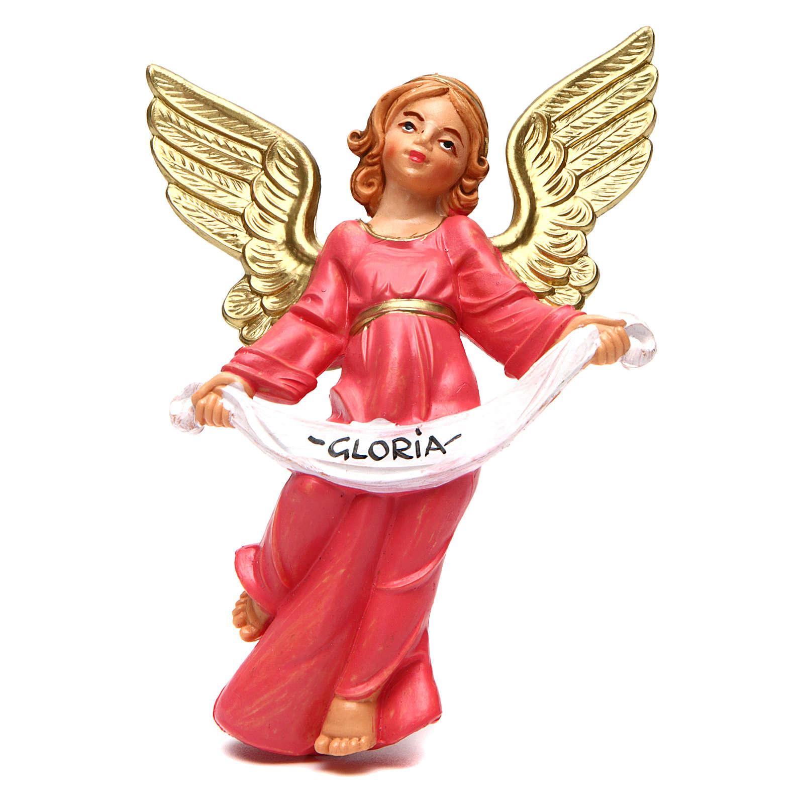 Glory Angel of 16 cm nativity 3