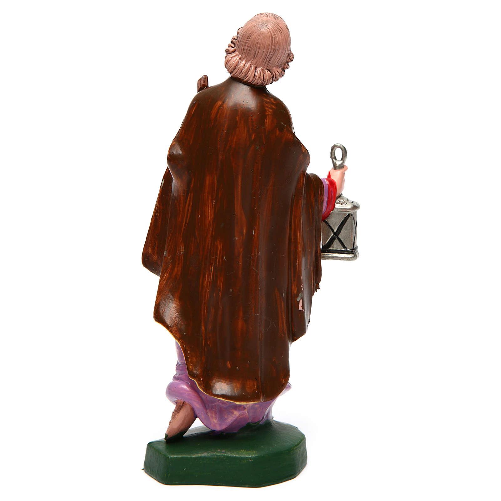San Giuseppe per presepe 16 cm 3