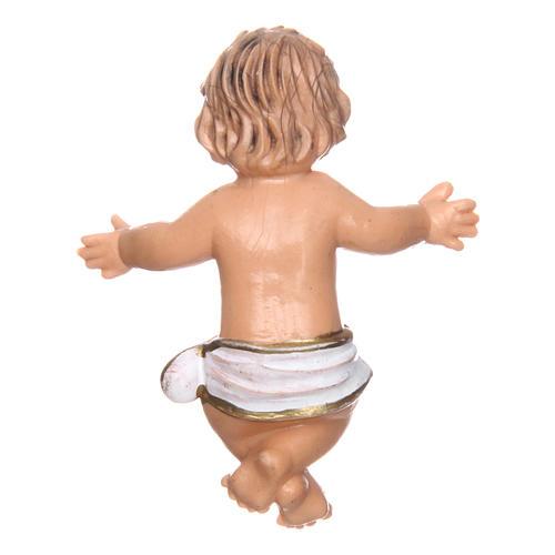 Bambino e culla per presepe di 16 cm 4