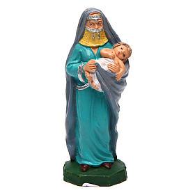 Femme avec enfant pour crèche de 10 cm s1