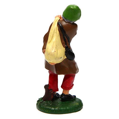 Hombre con saco de 10 cm de altura media belén 2