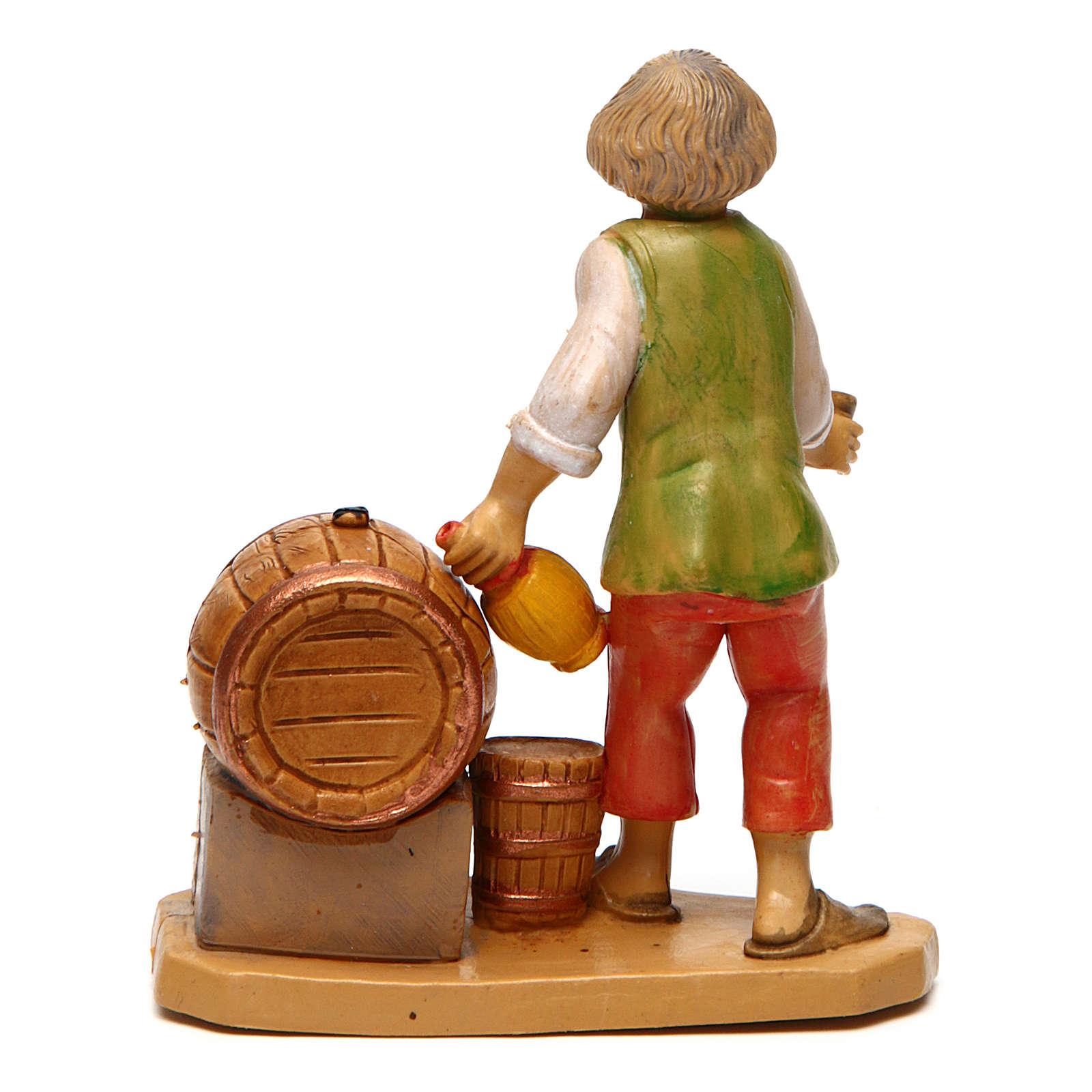 Taberneiro para presépio com figuras de altura média 10 cm 3